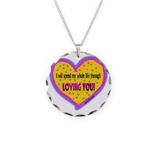 Spend My Whole Life Through-Elvis Presley Necklace