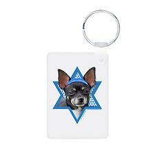 Hanukkah Star of David - Chihuahua Aluminum Photo