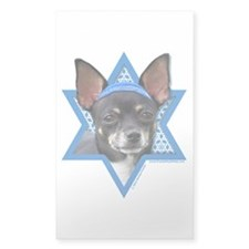 Hanukkah Star of David - Chihuahua Decal