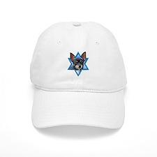 Hanukkah Star of David - Chihuahua Baseball Cap