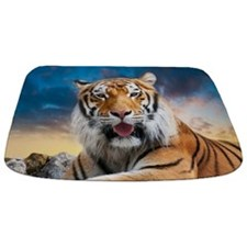 Tiger Sunset Bathmat