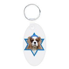 Hanukkah Star of David - Cavalier Aluminum Oval Ke