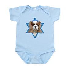 Hanukkah Star of David - Cavalier Infant Bodysuit