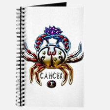 Cute Cancer zodiac Journal