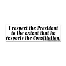 Cute Constitution Car Magnet 10 x 3
