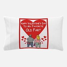 Old Fart Valentine Pillow Case