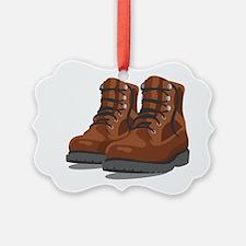 Hiking Boots Ornament