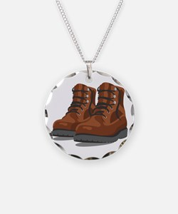 Hiking Boots Necklace