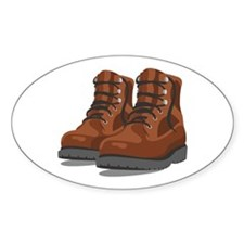 Hiking Boots Decal