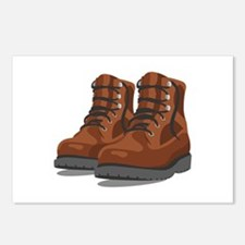 Hiking Boots Postcards (Package of 8)