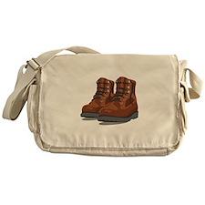 Hiking Boots Messenger Bag