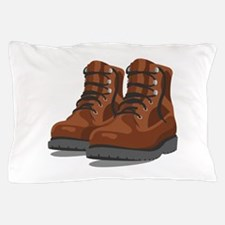 Hiking Boots Pillow Case