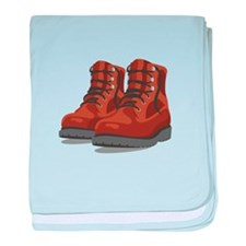 Hiking Boots baby blanket