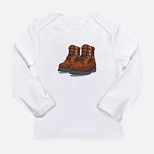 Hiking Boots Long Sleeve T-Shirt