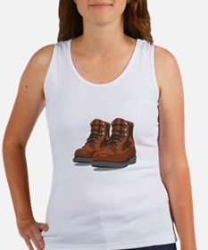 Hiking Boots Tank Top