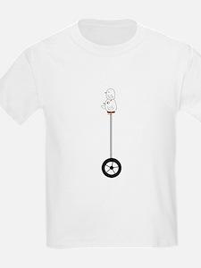 Single Wheel Bike T-Shirt