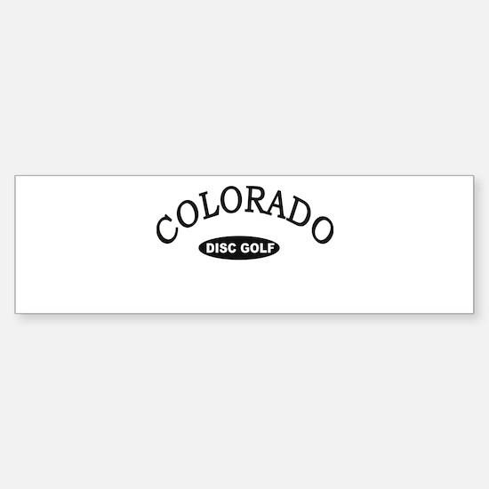 Colorado Disc Golf Sticker (Bumper)