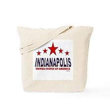 Indianapolis U.S.A. Tote Bag