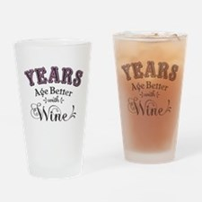 Years Age Better Drinking Glass