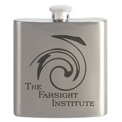 Farsight Institute Logo Flask