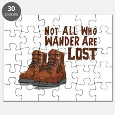 Not All Who Wander Are Lost Puzzle