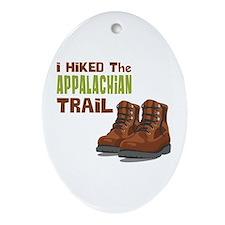 I Hiked the Appalachian Trail Ornament (Oval)