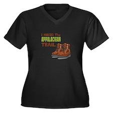 I Hiked the Appalachian Trail Plus Size T-Shirt