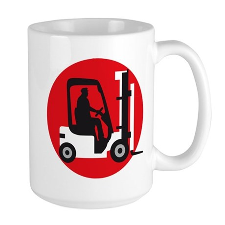 forklift driver Mugs