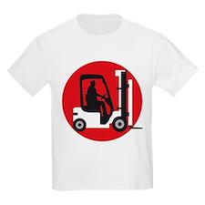 forklift driver T-Shirt