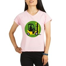 forklift driver Performance Dry T-Shirt