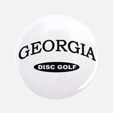 "Georgia Disc Golf 3.5"" Button"