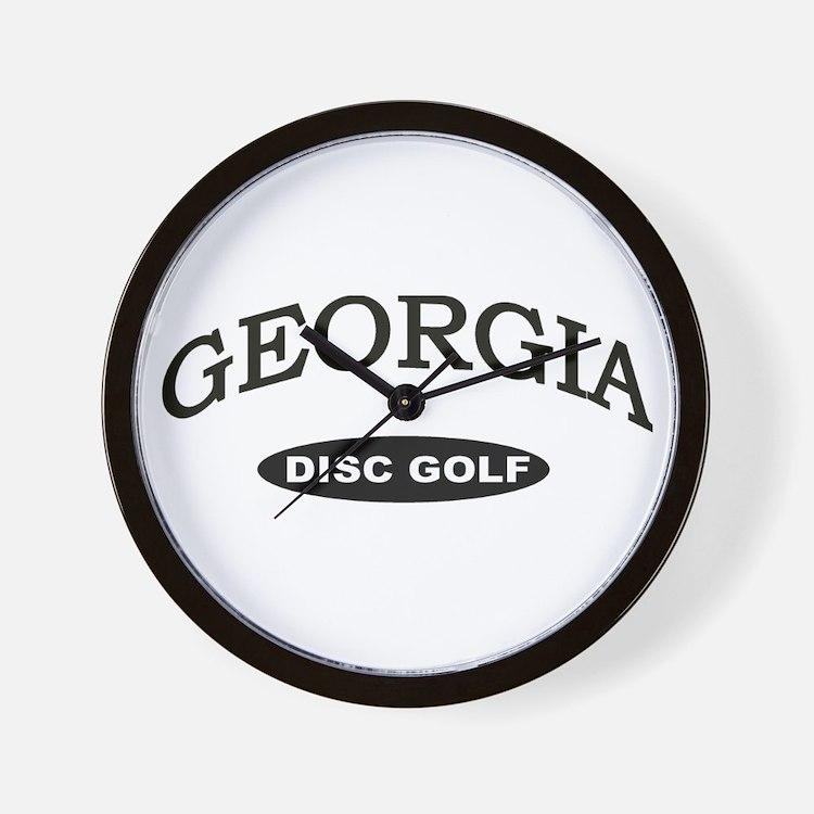 Georgia Disc Golf Wall Clock