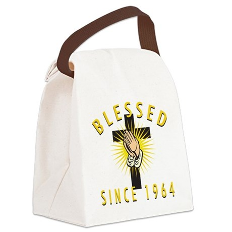 Blessed Since 1964 Canvas Lunch Bag