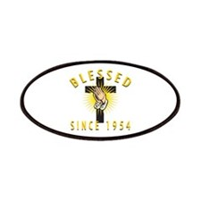 Blessed Since 1954 Patches