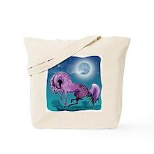 Purple Appaloosa Tote Bag