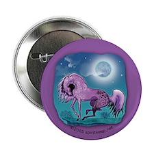 Purple Appaloosa Button