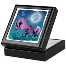 Purple Appaloosa Keepsake Box