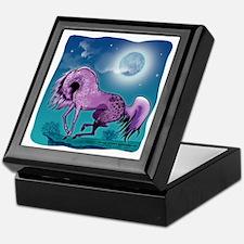 Purple Appaloosa Keepsake Box