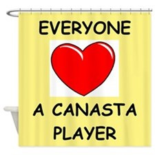 canasta Shower Curtain