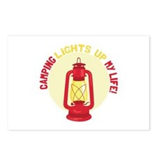 Camping Lights Up My Life Postcards (Package of 8)