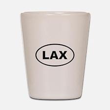 LAX Lacrosse Shot Glass