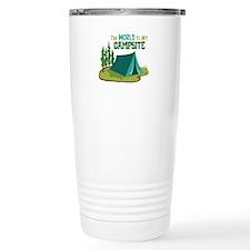 The World is My Campsite Travel Mug