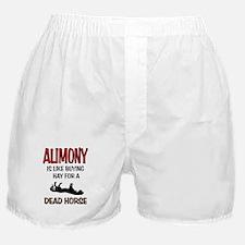 ALIMONY Boxer Shorts