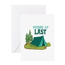 Home at Last Greeting Cards