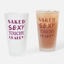 NAKED SEXY... Drinking Glass