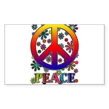 Peace Sign copy Sticker