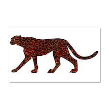 Unique Leopard large Car Magnet 20 x 12