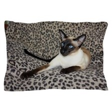 Seal Point Siamese Cat with beautiful  Pillow Case