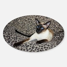 Seal Point Siamese Cat with beautif Decal