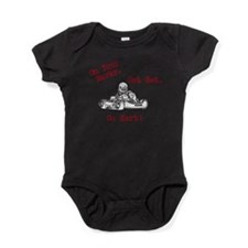 On Your Marks. Get Set. Go Kart! Baby Bodysuit